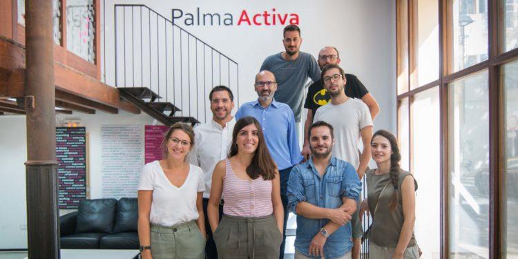 Visita del regidor de Promoció Econòmica i Ocupació al Centre d'Empreses de PalmaActiva