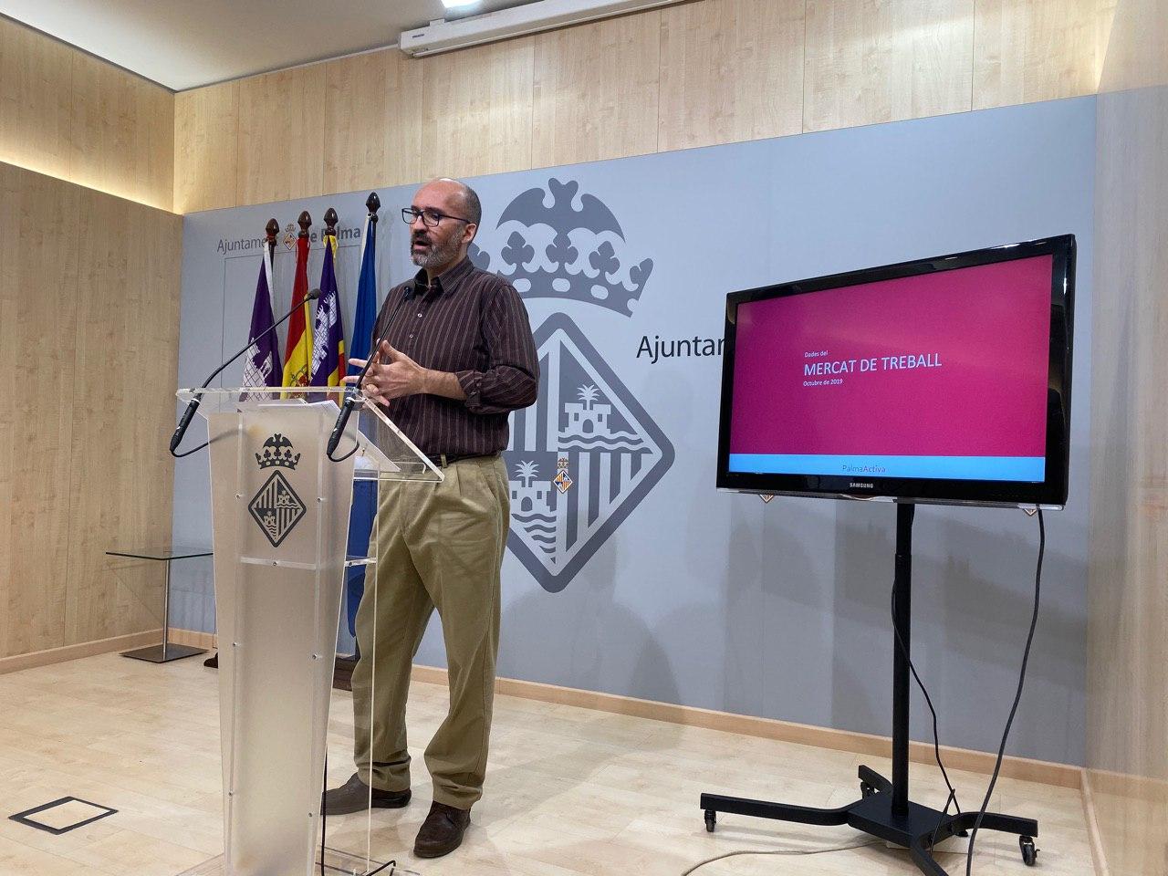 Coordinador de la regidoria de Promoció Econòmica i Ocupació, Miquel Àngel Capó