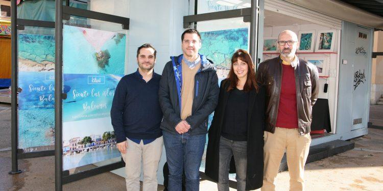Kiliart porta la seva decoració mediterrània al Quiosc de PalmaActiva