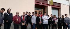 30 jóvenes de 1º y 2º del CFGM de Sistemas Microinformáticos y Redes del IES Emili Darder visitaron la empresa Bidari.