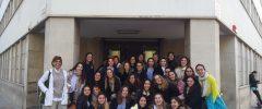 34 jóvenes de 1r curso del CFGM «Técnico/a en Atención a Personas en situación de Dependencia» de La Salle Palma visitan Cruz Roja Palma