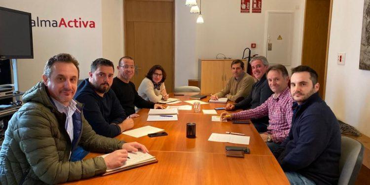 Reunió preparatòria a PalmaActiva de la Fira de Son Ferriol