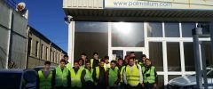 Visita 13/01/2020 a Palmallum. IES SON PACS. CFGM Electricidad (18 alumnos + 2 profesores.