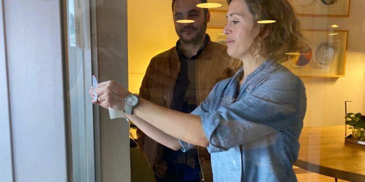 L'edil Rodrigo Romero visita alguns dels establiments que han rebut les subvencions de PalmaActiva