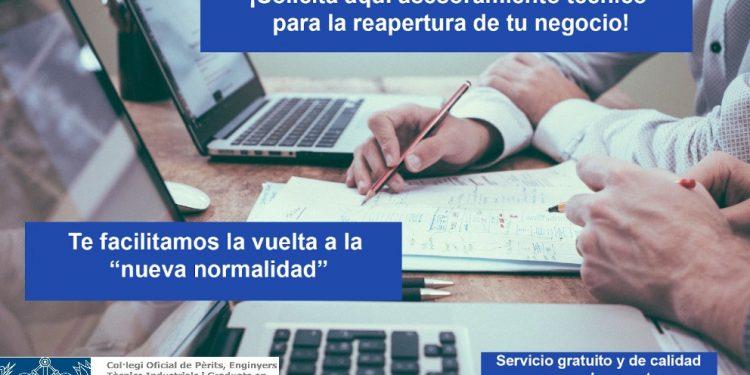 Campaña de asesoramiento para la reapertura de negocios para hacer frente al COVID-19