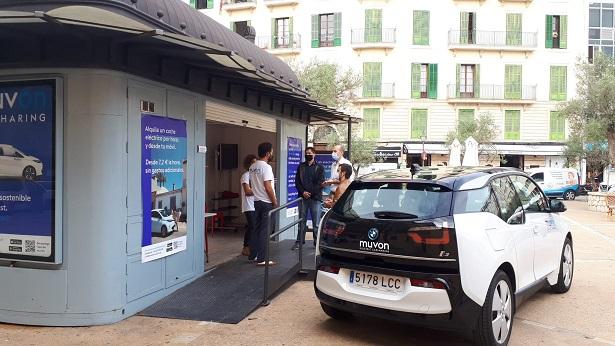 La mobilitat elèctrica arriba al Quiosc de PalmaActiva