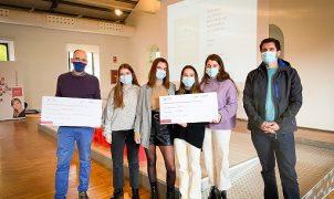 Alumnes de l'escola EDIB guanyen el primer premi del concurs PalmaActiva als millors projectes empresarials d'estudiants