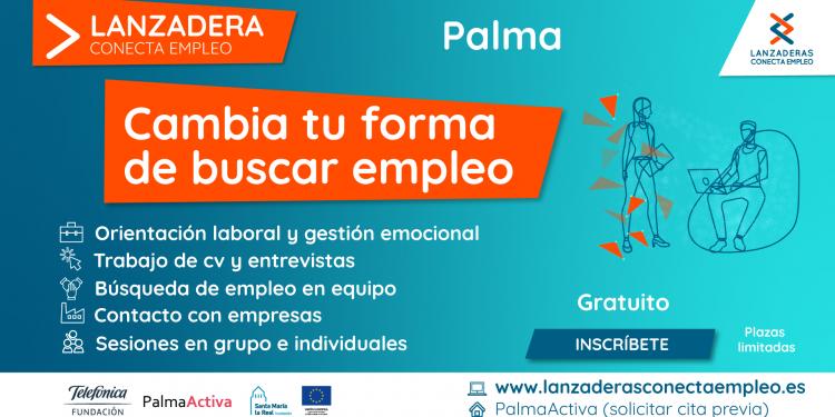 Palma comptarà a partir de març amb una nova Llançadora Connecta Ocupació