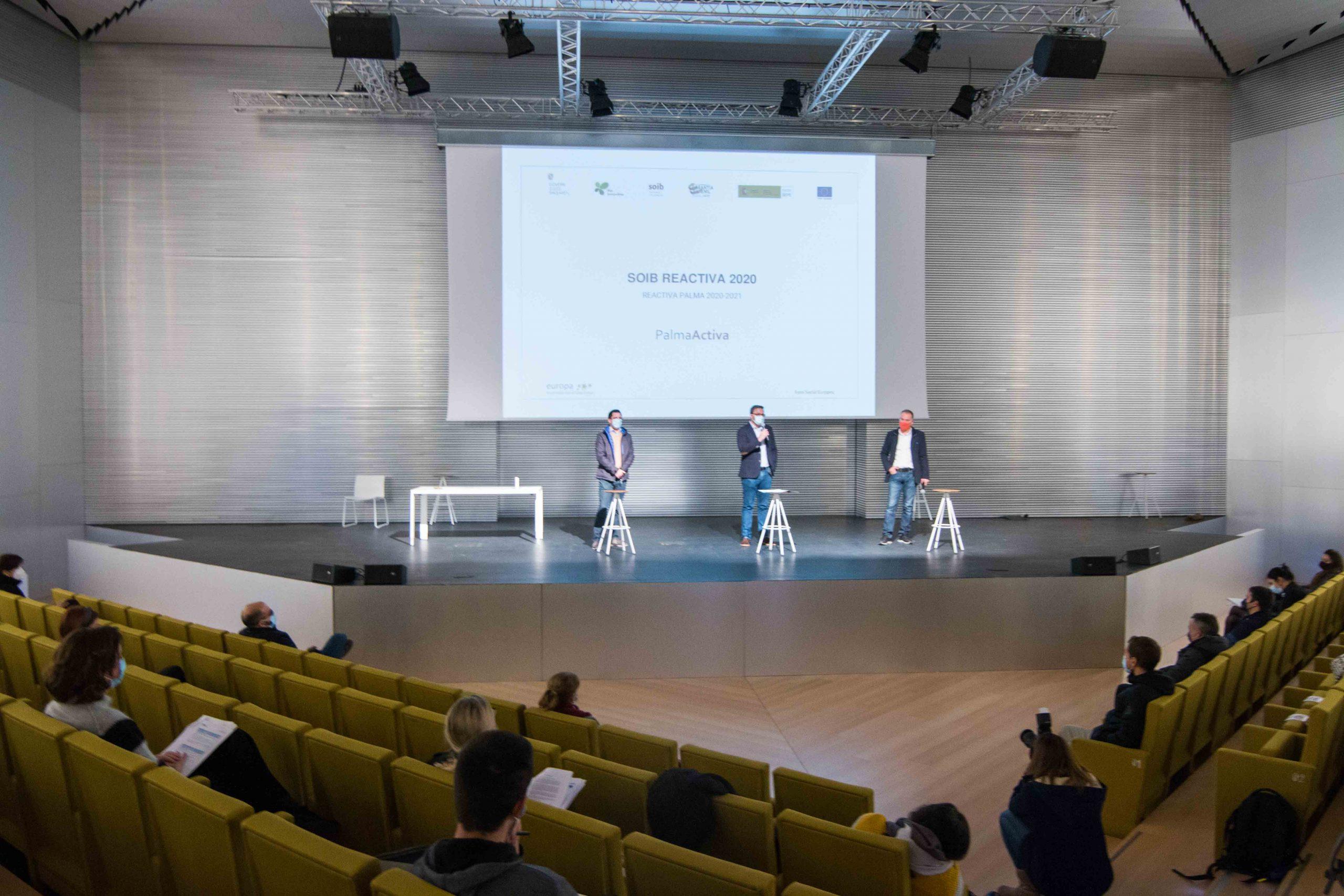 El Ayuntamiento de Palma da la bienvenida a 138 personas que trabajarán en el consistorio gracias al programa SOIB Reactiva 2020