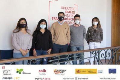 Finalitza el primer torn de SOIB Reactiva 2020, programa gràcies al qual PalmaActiva contracta 306 persones