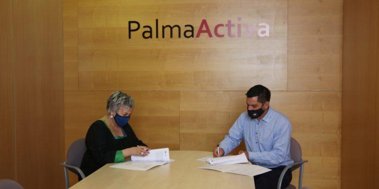 PalmaActiva y la UIB firman un convenio de colaboración de prácticas académicas externas