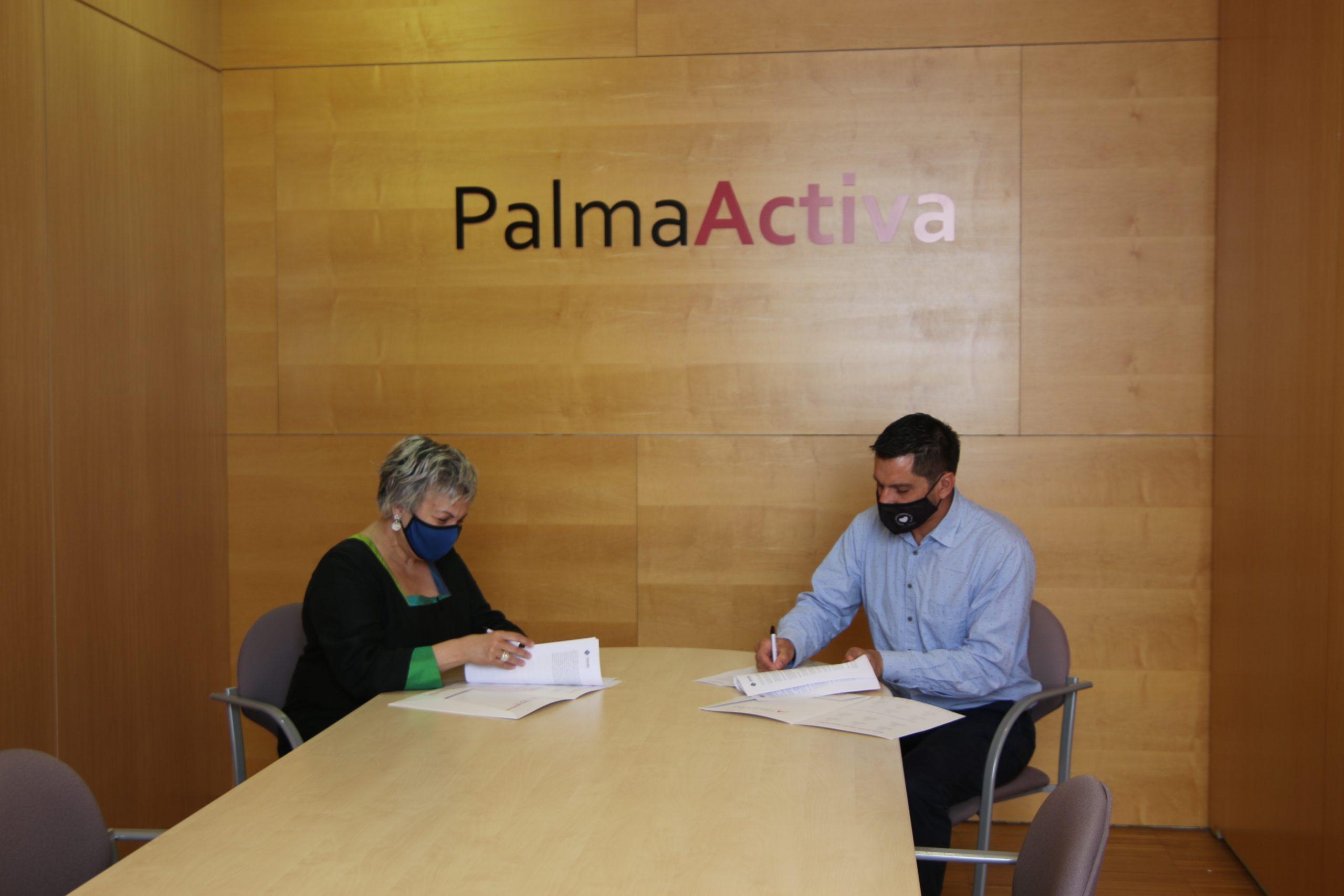 PalmaActiva i la UIB signen un conveni de col·laboració de pràctiques acadèmiques externes