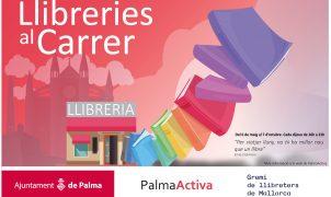 Los libros salen a la calle gracias a PalmaActiva y al Gremi de Llibreters
