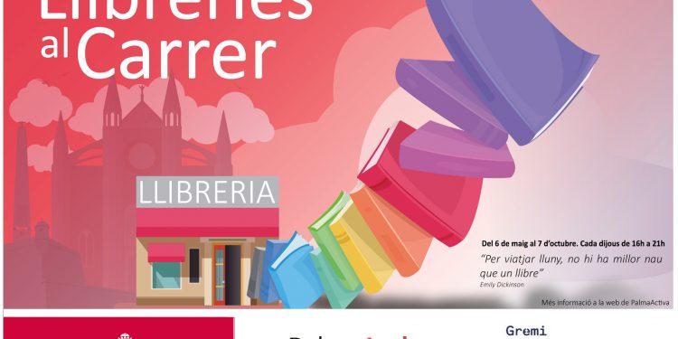 Els llibres surten al carrer gràcies a PalmaActiva i al Gremi de Llibreters