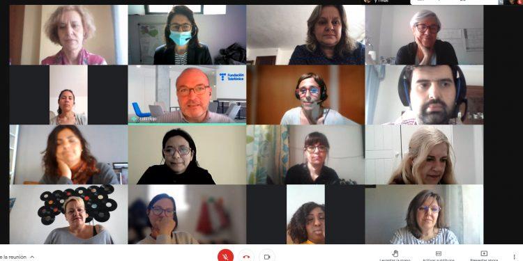 Videoconferencia con las participantes de la Llanzadera Conecta Ocupación de Palma