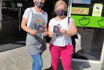 L'Ajuntament lliurarà un miler de mascaretes reutilitzables als placers dels mercats municipals permanents