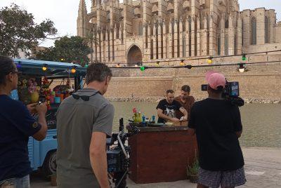 """Palma Film Office dona suport a la sèrie """"The heart of the Mediterranean"""", programa culinari que s'emetrà a la principal cadena de televisió dels Països Baixos"""