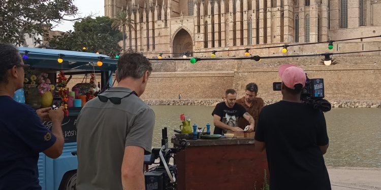 Palma Film Office apoya la serie «The heart of the Mediterranean», programa culinario que se emitirá en la principal cadena de televisión de los Países Bajos