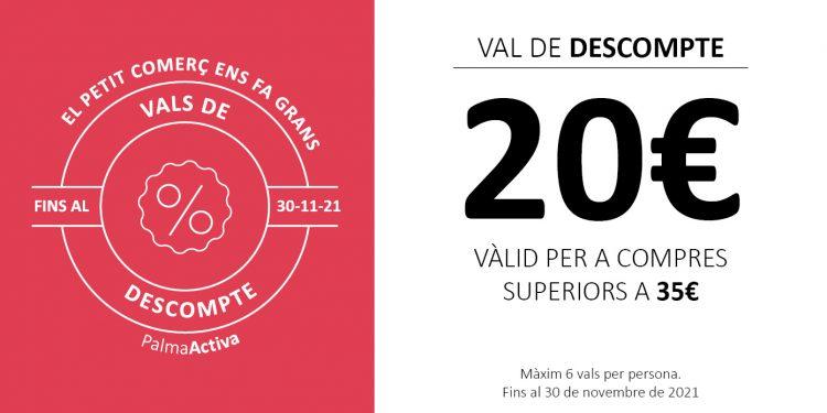 PalmaActiva lanza una campaña de 25.000 vales de compra